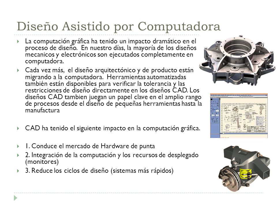 Diseño Asistido por Computadora