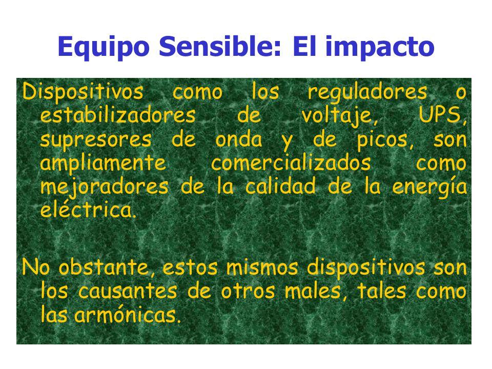 Equipo Sensible: El impacto