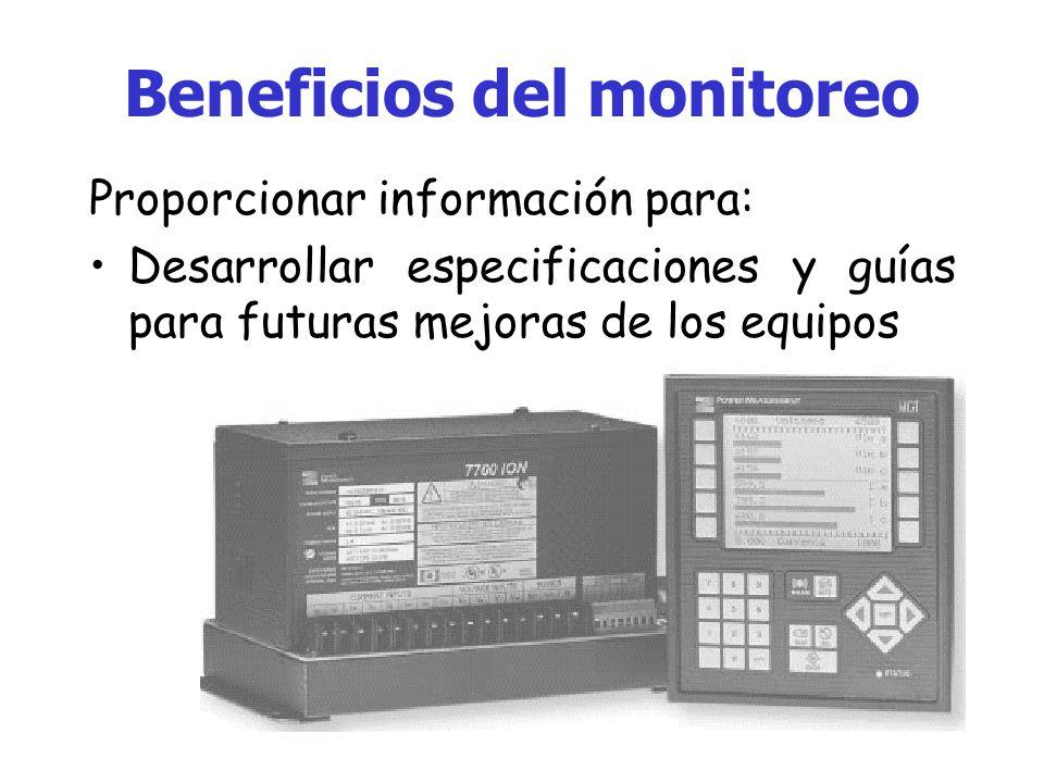 Beneficios del monitoreo