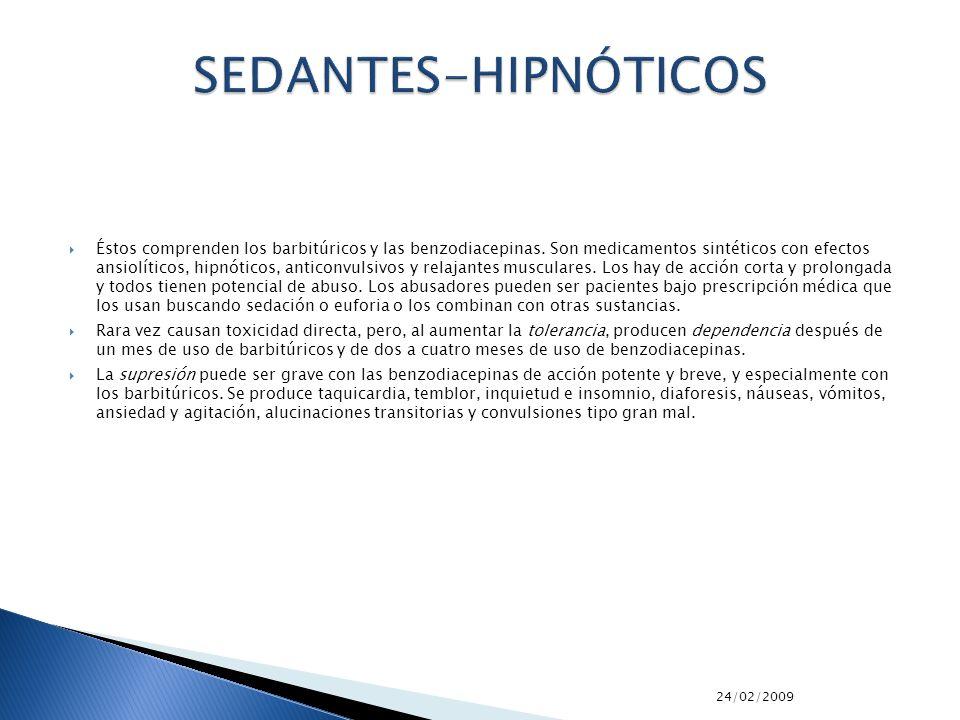 SEDANTES-HIPNÓTICOS