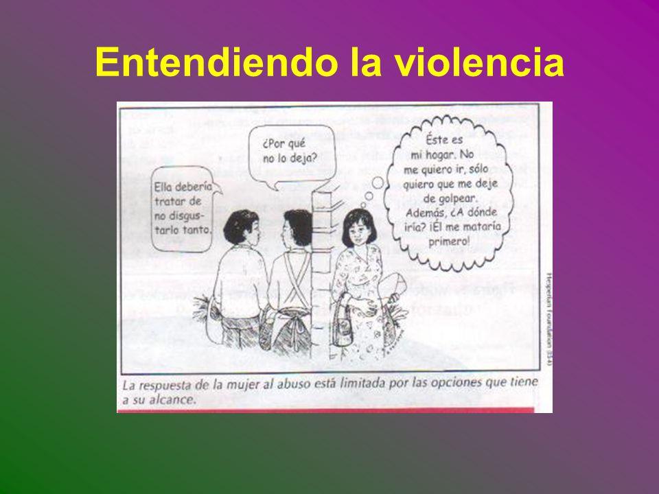 Entendiendo la violencia