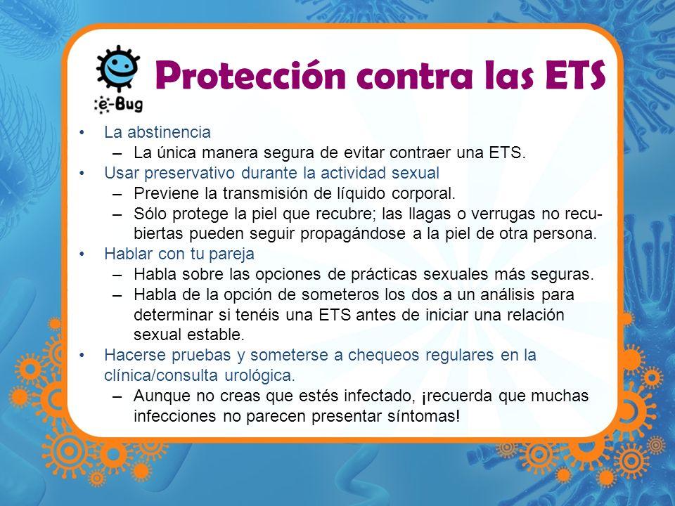 Protección contra las ETS