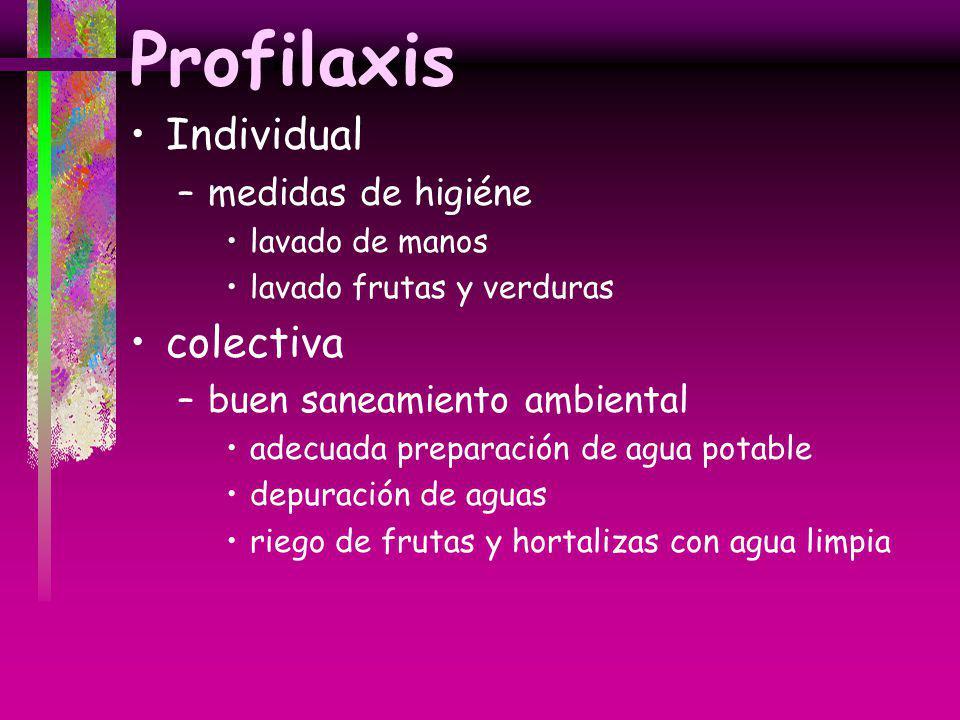 Profilaxis Individual colectiva medidas de higiéne