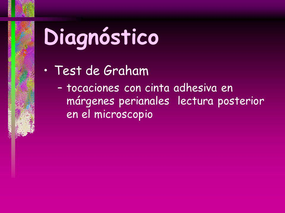 Diagnóstico Test de Graham