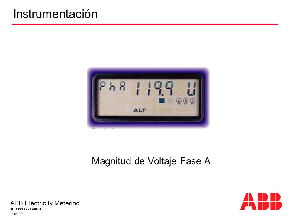 Magnitud de Voltaje Fase A