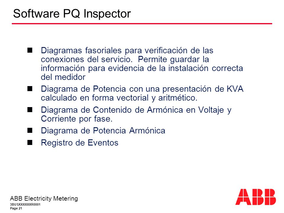 Software PQ Inspector