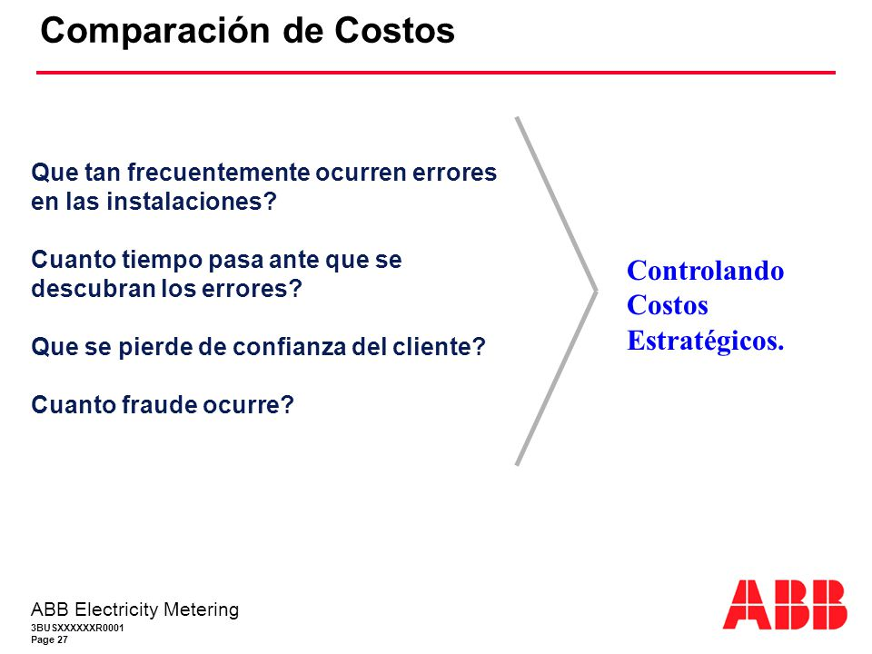 Comparación de Costos Controlando Costos Estratégicos.