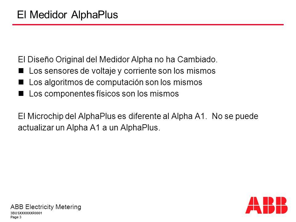 El Medidor AlphaPlus El Diseño Original del Medidor Alpha no ha Cambiado. Los sensores de voltaje y corriente son los mismos.