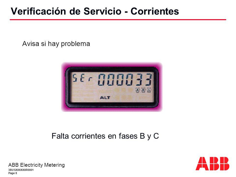 Verificación de Servicio - Corrientes