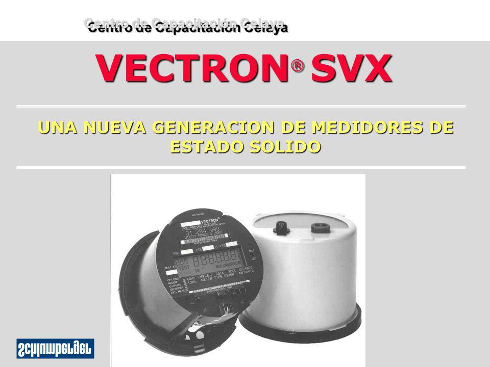 VECTRON® SVX UNA NUEVA GENERACION DE MEDIDORES DE ESTADO SOLIDO