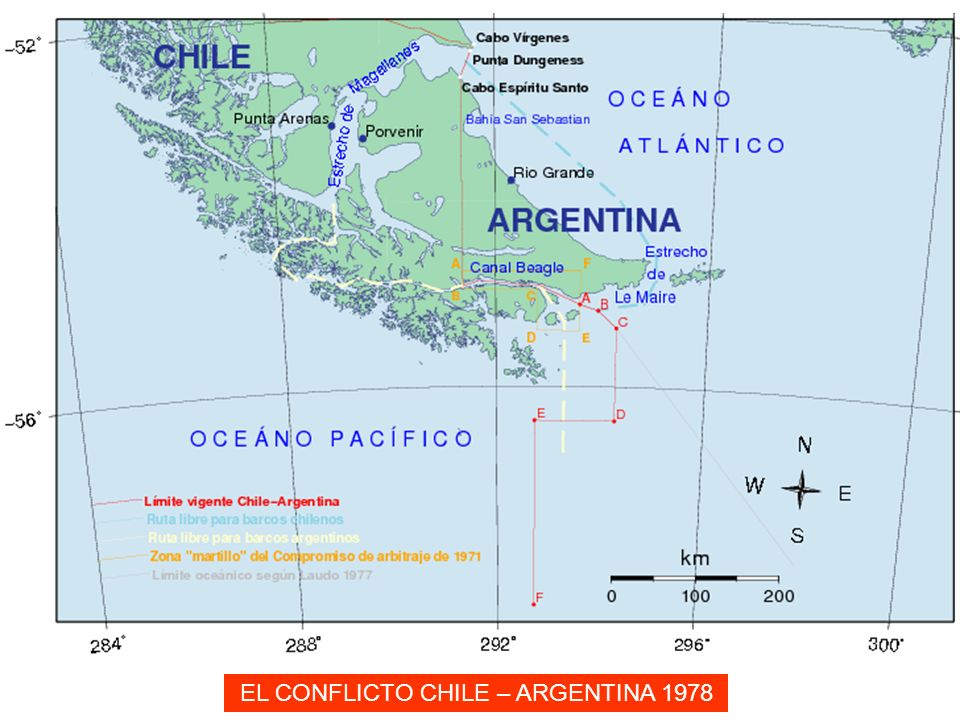 EL CONFLICTO CHILE – ARGENTINA 1978