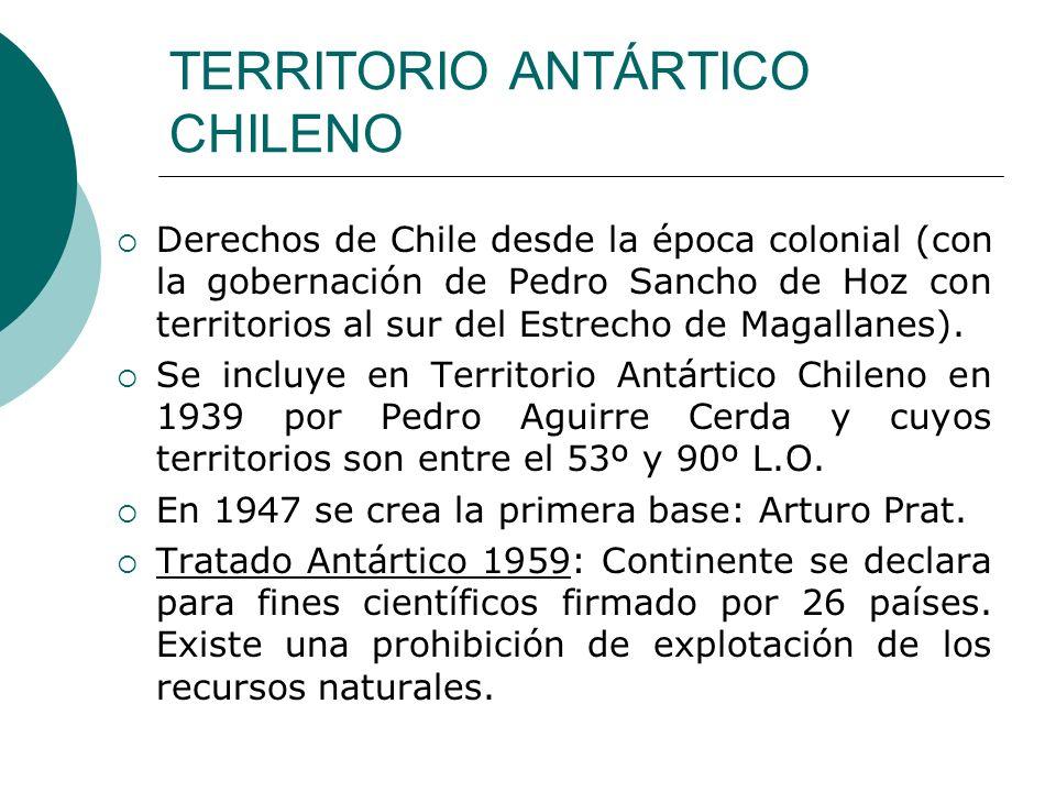 TERRITORIO ANTÁRTICO CHILENO