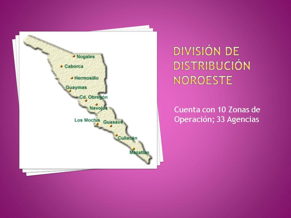 División de distribución noroeste