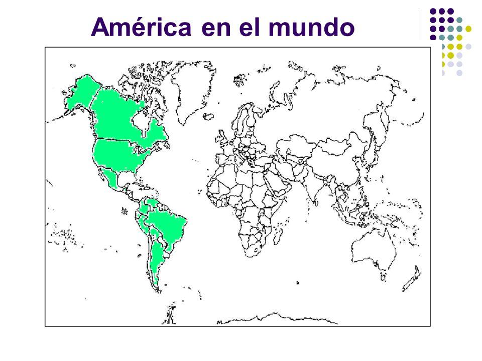 América en el mundo