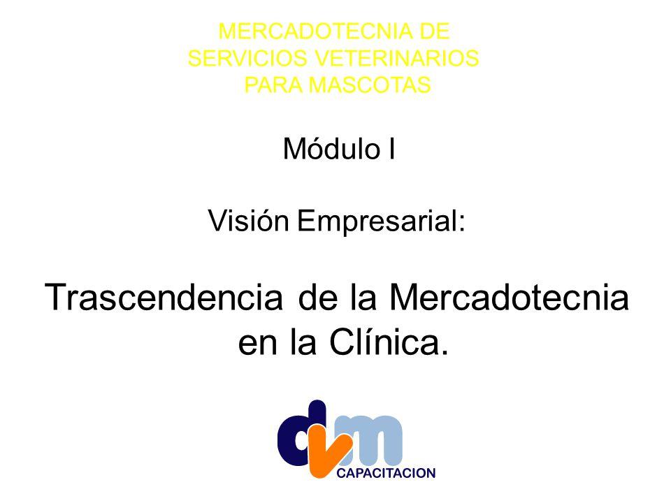 Trascendencia de la Mercadotecnia en la Clínica.