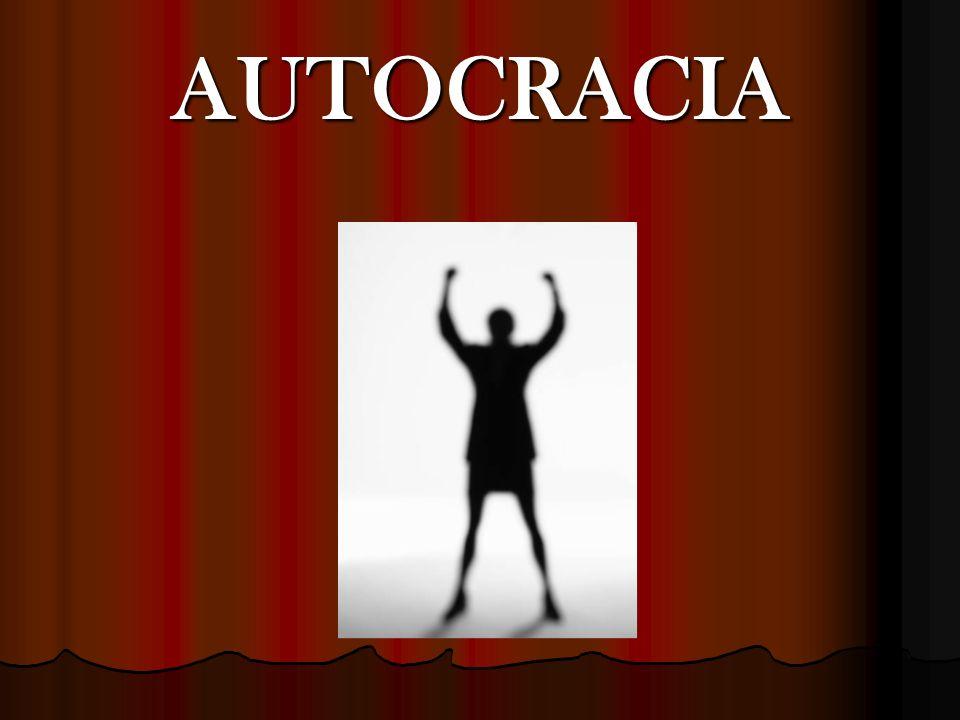 AUTOCRACIA
