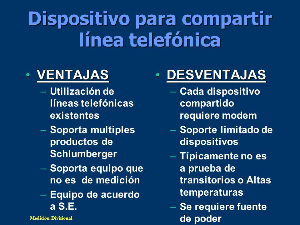 Dispositivo para compartir línea telefónica