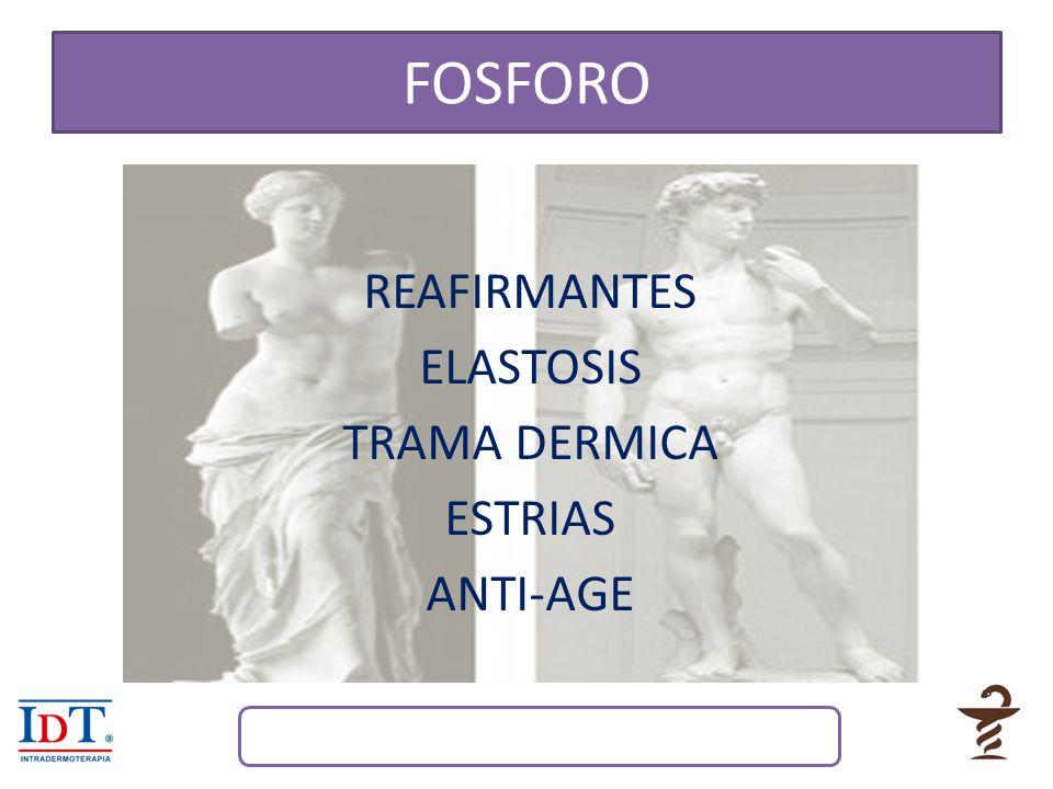 REAFIRMANTES ELASTOSIS TRAMA DERMICA ESTRIAS ANTI-AGE