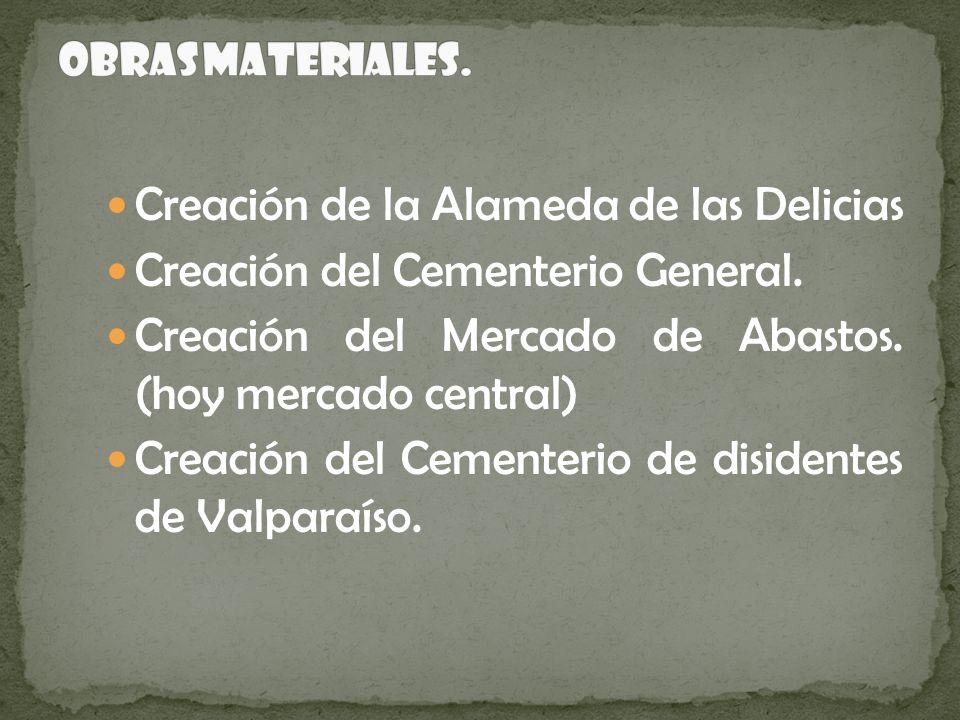 Creación de la Alameda de las Delicias