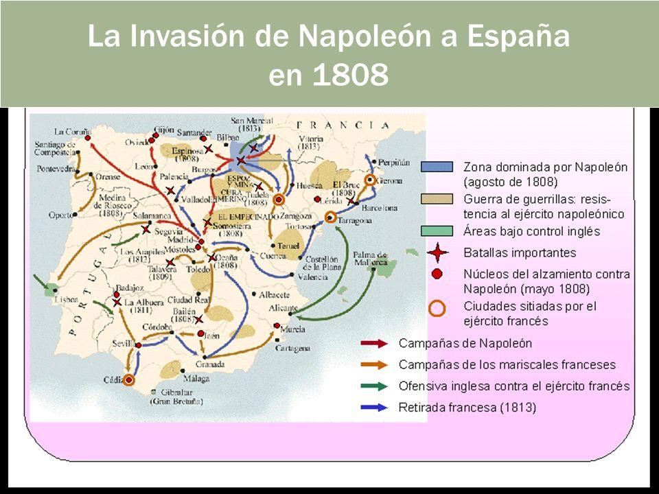 La Invasión de Napoleón a España