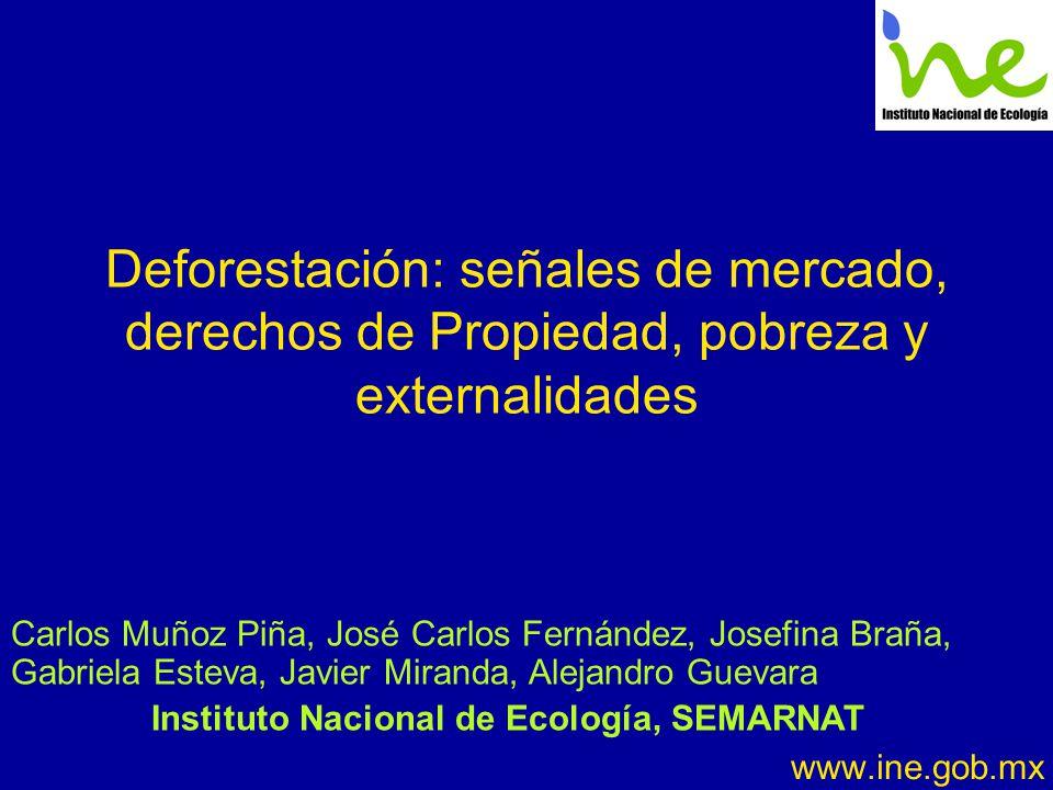 Instituto Nacional de Ecología, SEMARNAT