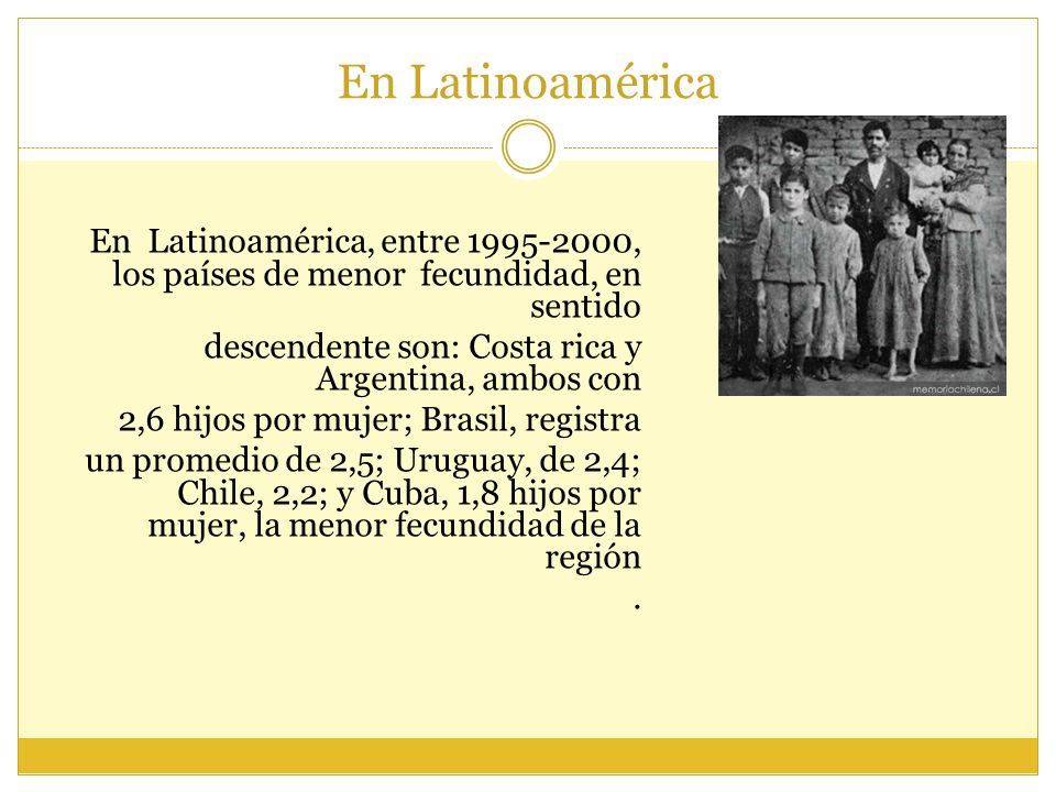 En Latinoamérica