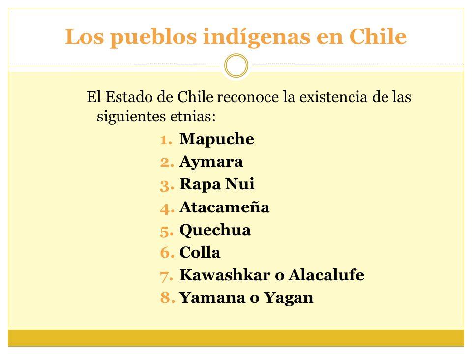 Los pueblos indígenas en Chile