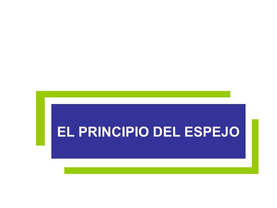 EL PRINCIPIO DEL ESPEJO