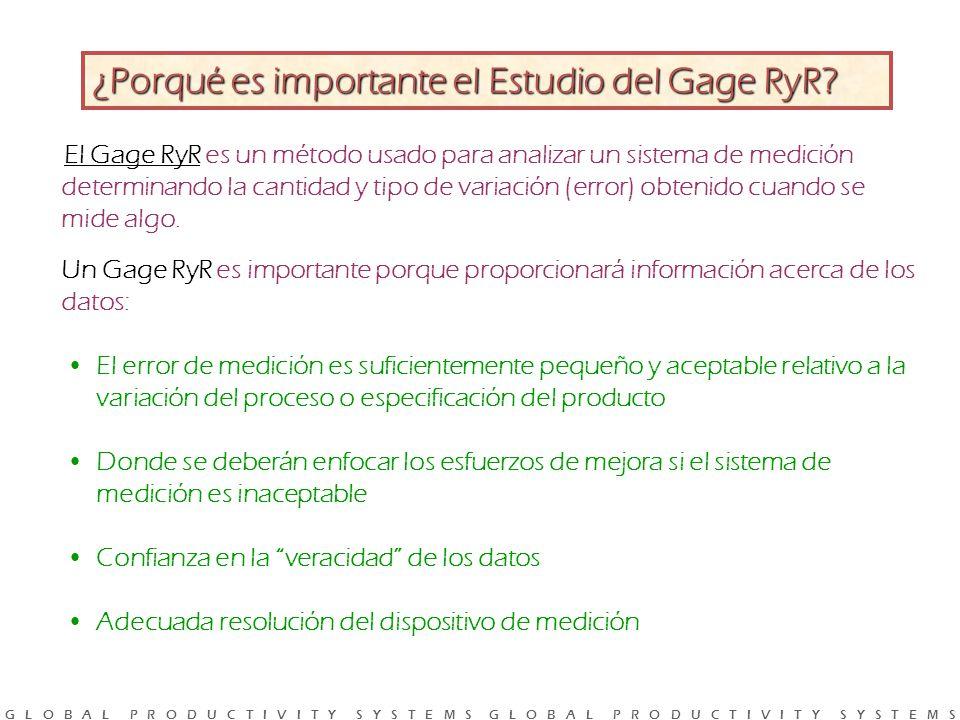 ¿Porqué es importante el Estudio del Gage RyR