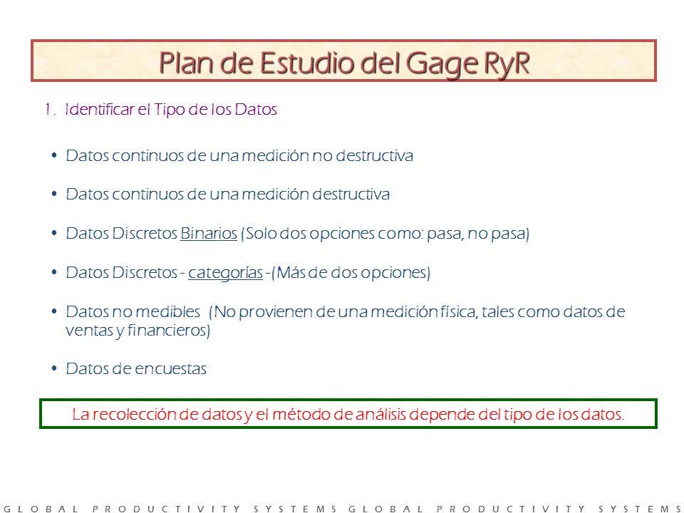 Plan de Estudio del Gage RyR