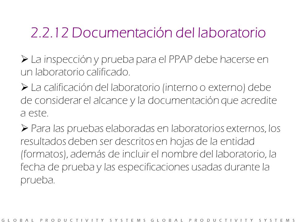 2.2.12 Documentación del laboratorio