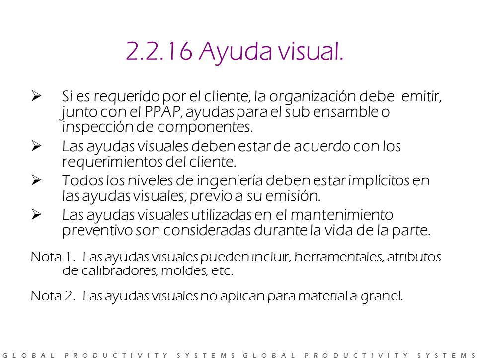 2.2.16 Ayuda visual.