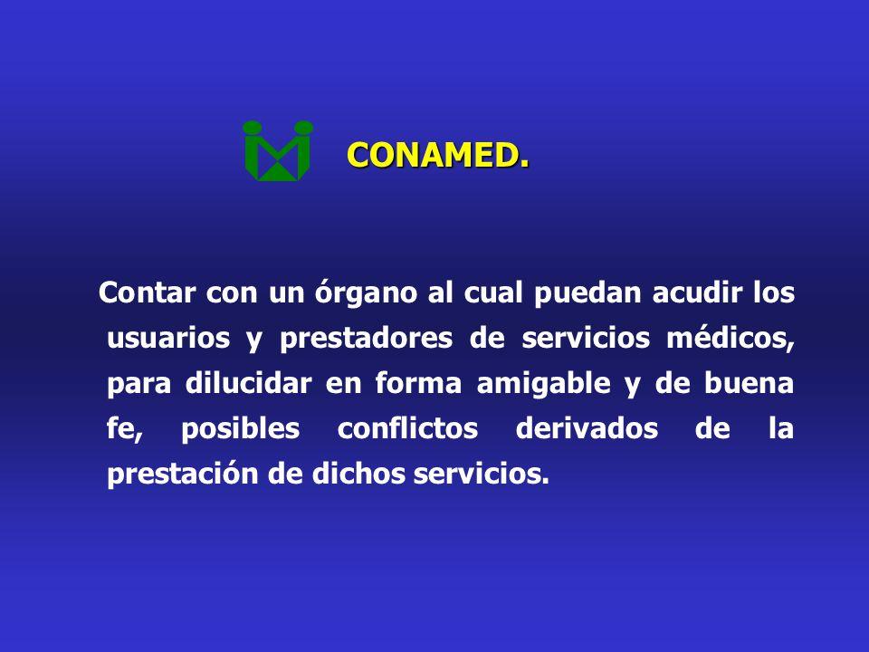 CONAMED.