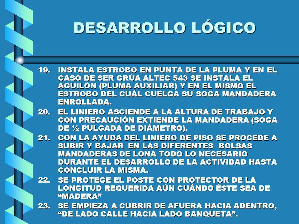 DESARROLLO LÓGICO