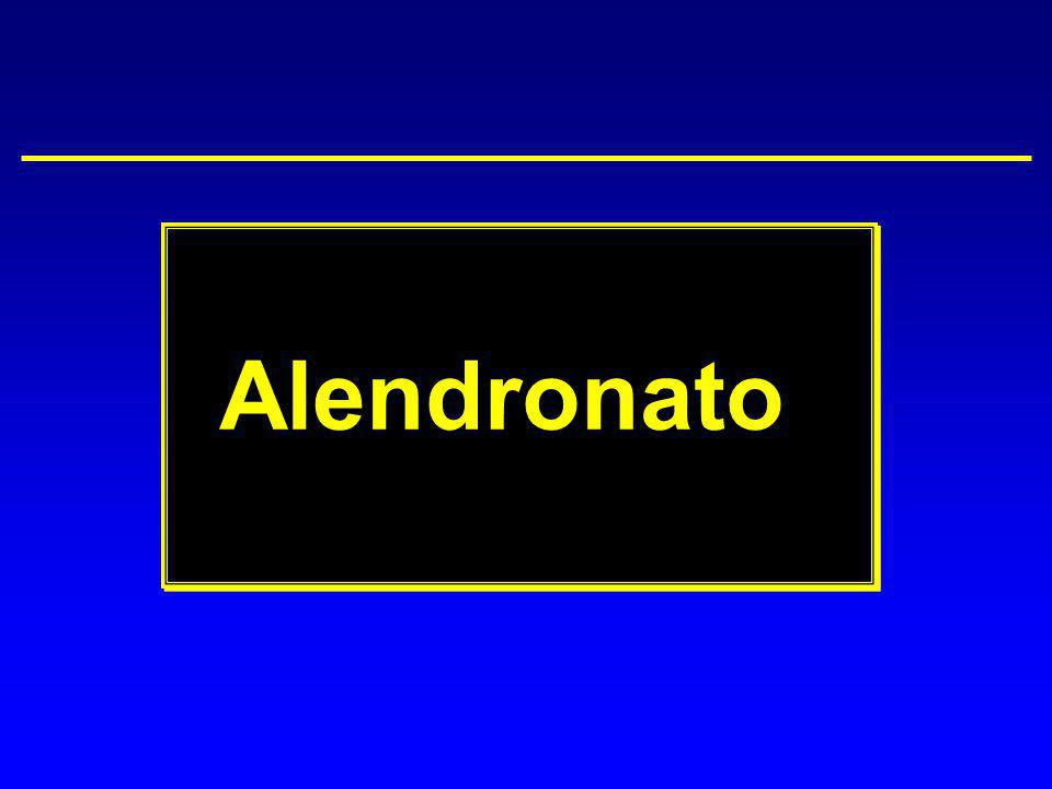 Alendronato During the past decade, these therapeutic agents have found a place in the osteoporosis treatment protocol.