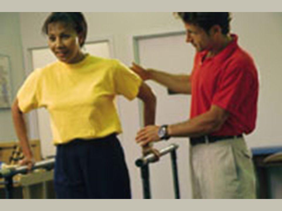 La Terapia física para tratar sprains/strains, espasmos de los músculos, artritis, y muchos otros desórdenes. Es un componente importante de tratamiento la cirugía de la espina siguiente. El propósito de PT es ayudar la fuerza de la figura paciente, flexibilidad, y combina la terapia del heat/cold, ultrasonido, el estimulando eléctrico, y da masaje a con el ejercicio como la parte de rehabilitación