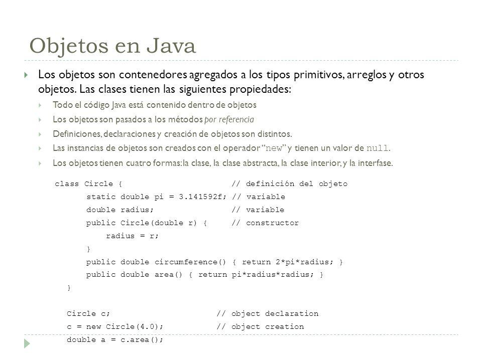 Objetos en Java