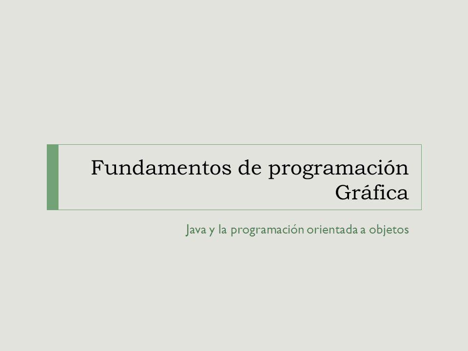 Fundamentos de programación Gráfica