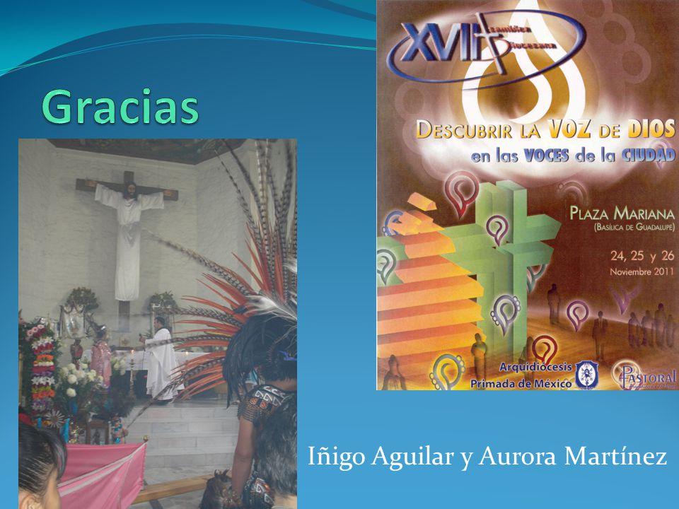 Iñigo Aguilar y Aurora Martínez