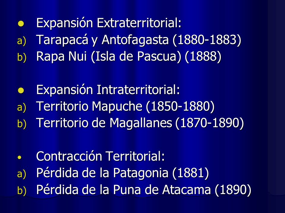 Expansión Extraterritorial:
