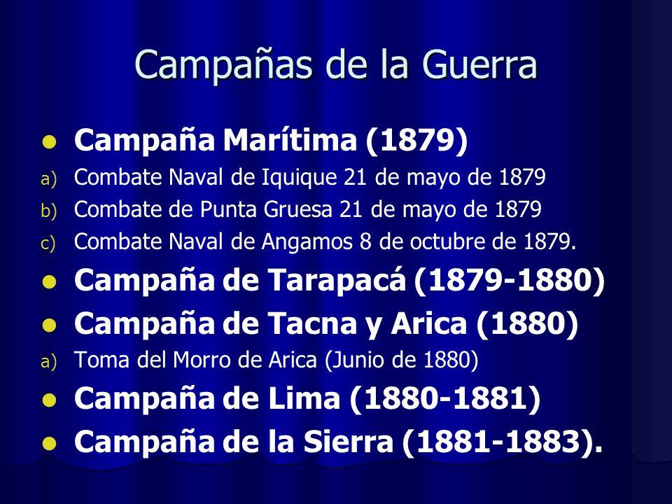 Campañas de la Guerra Campaña Marítima (1879)