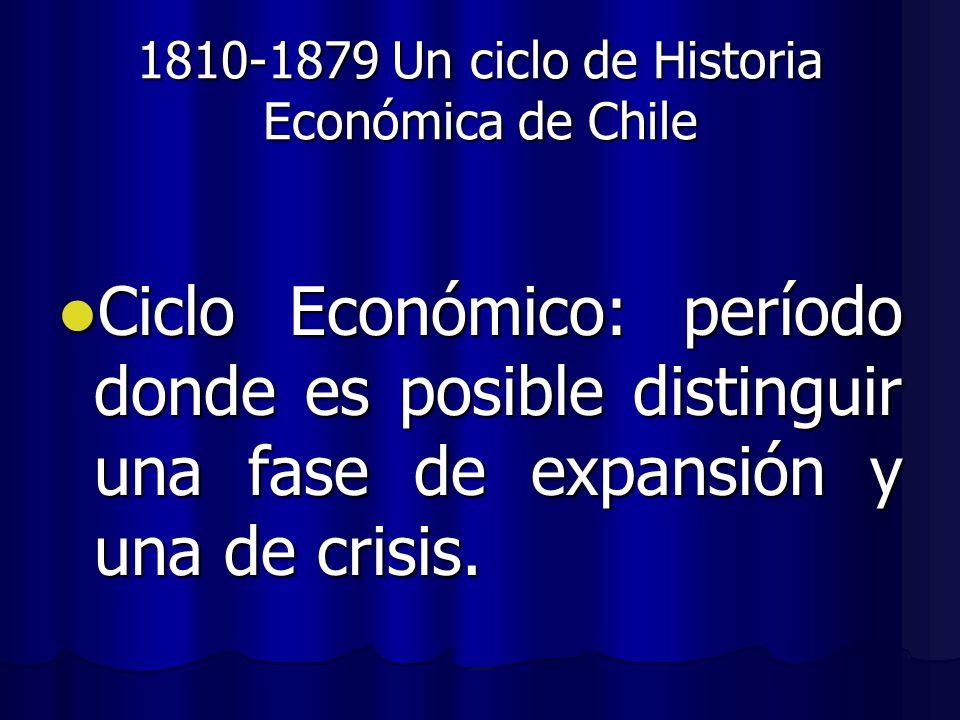 1810-1879 Un ciclo de Historia Económica de Chile