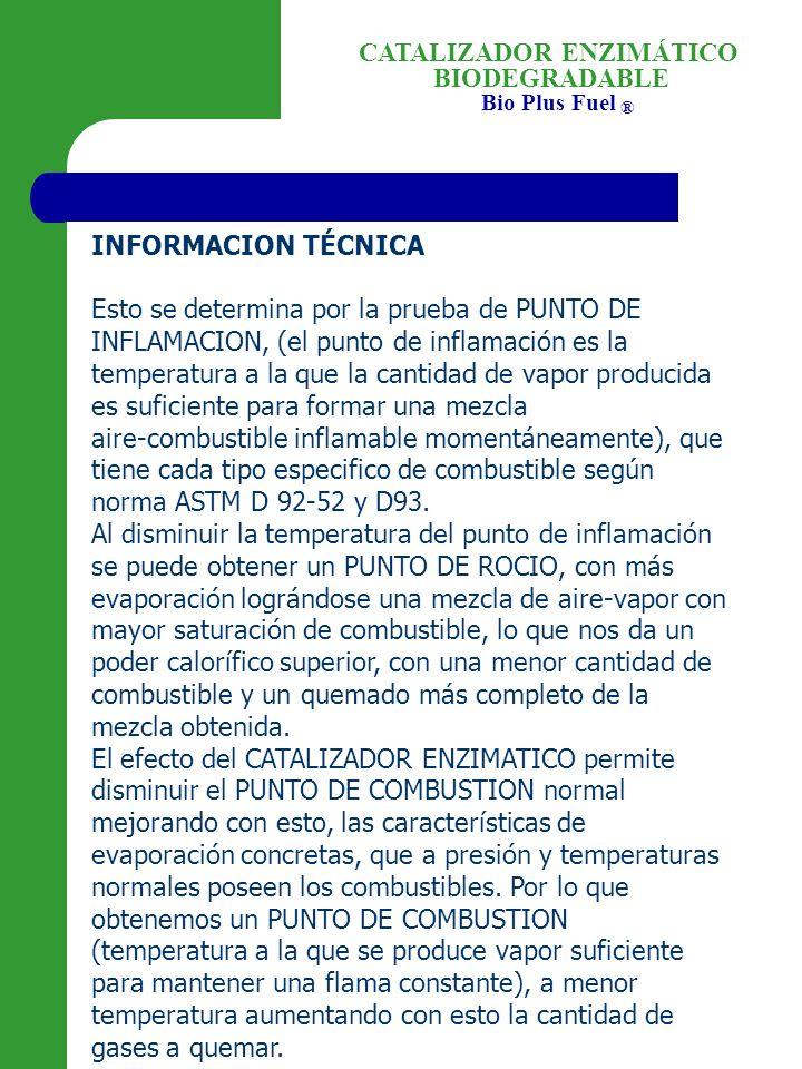 INFORMACION TÉCNICA