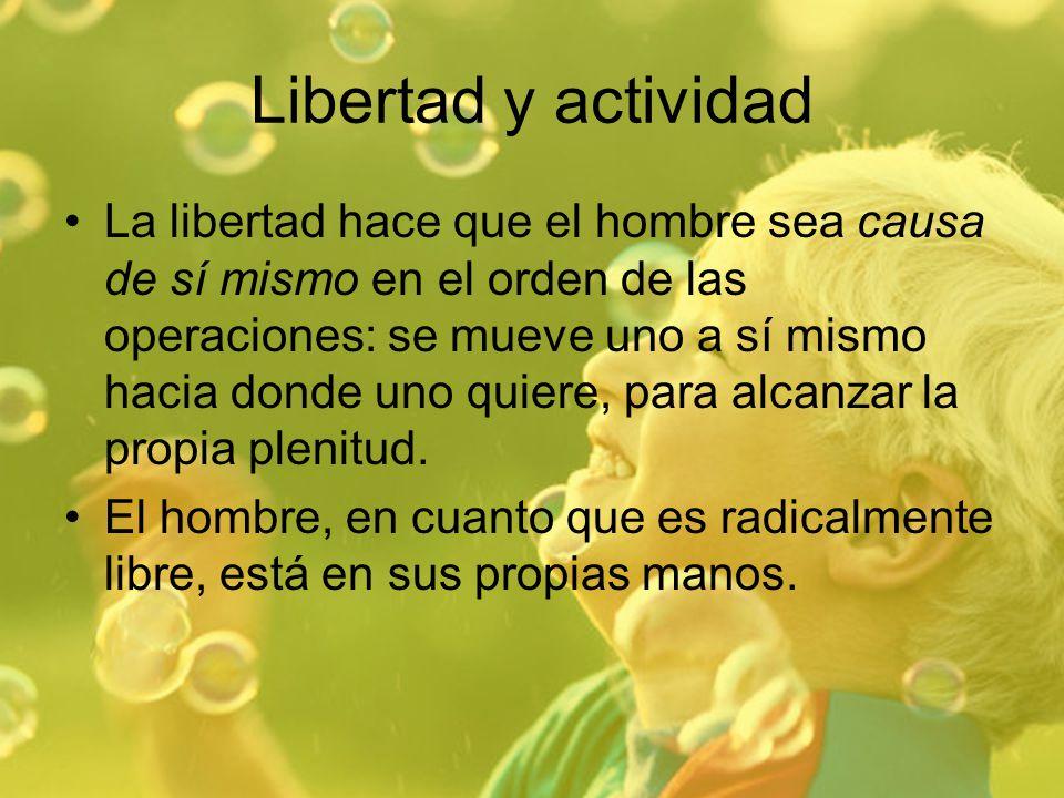 Libertad y actividad