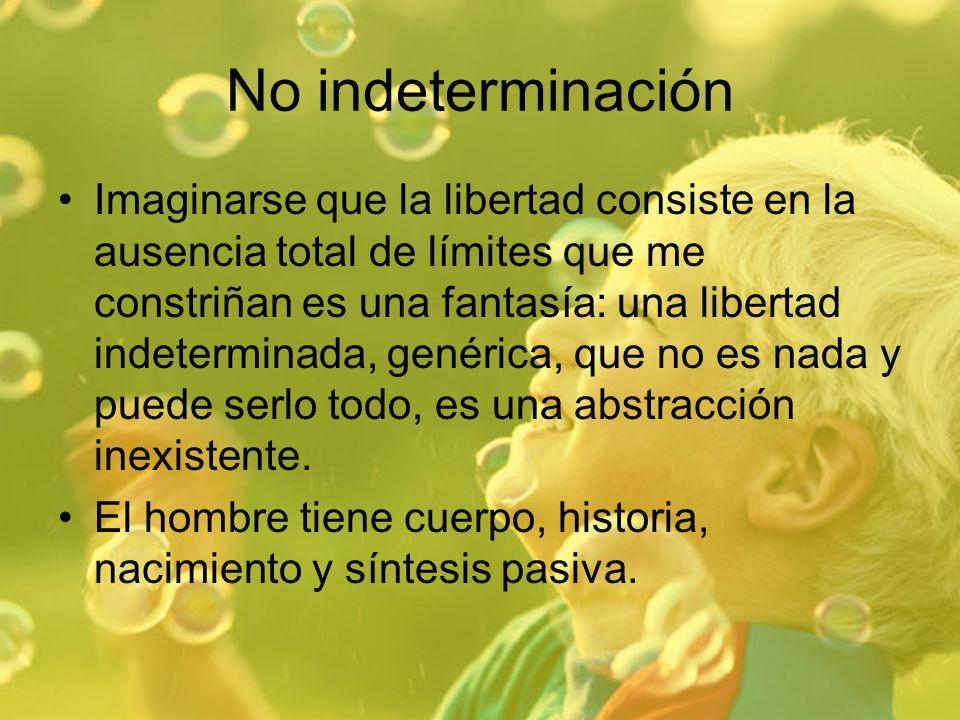 No indeterminación