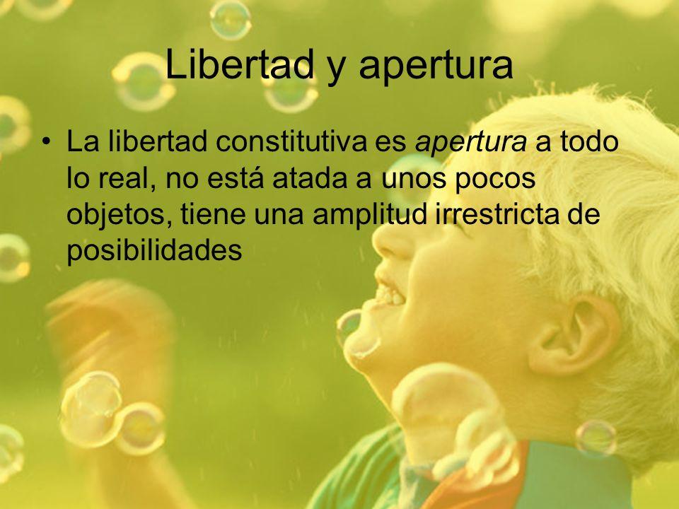 Libertad y apertura