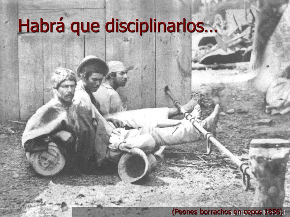 Habrá que disciplinarlos…