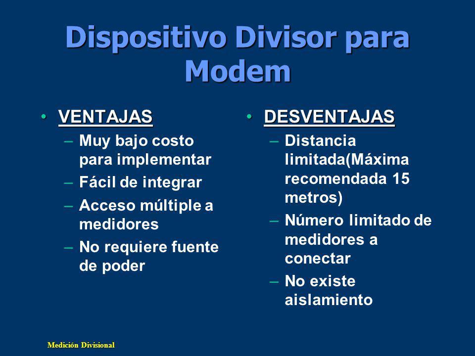 Dispositivo Divisor para Modem
