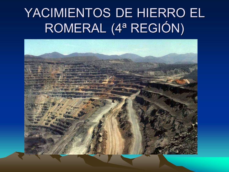 YACIMIENTOS DE HIERRO EL ROMERAL (4ª REGIÓN)