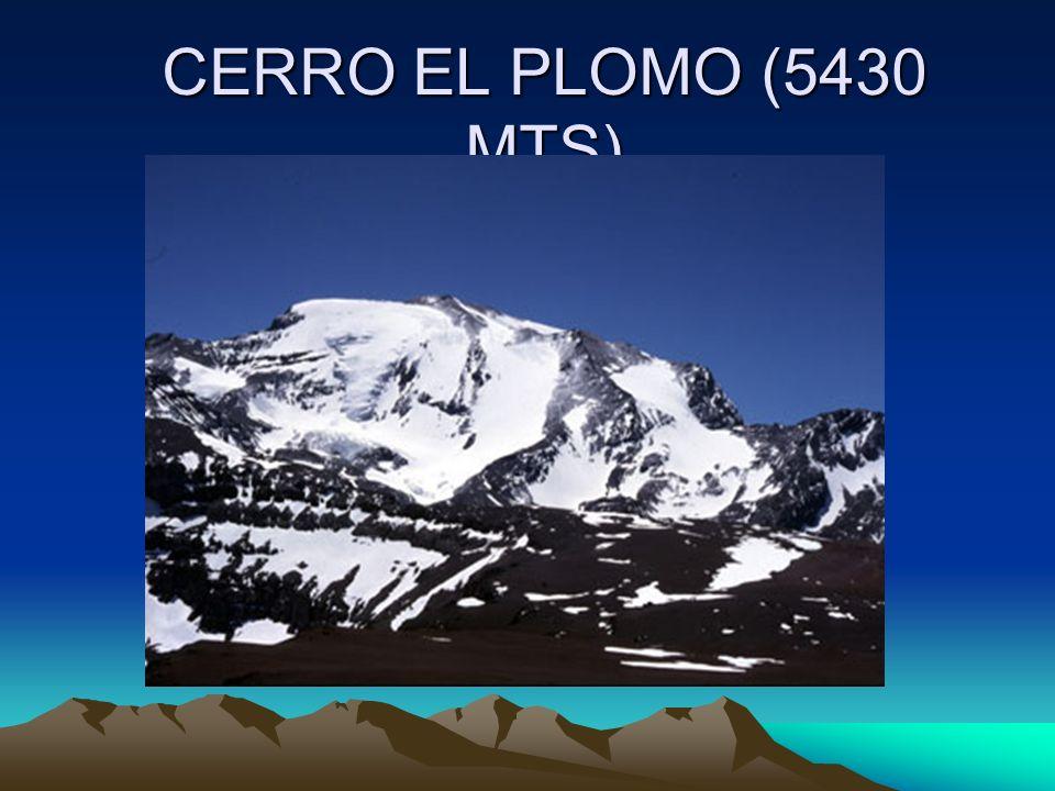 CERRO EL PLOMO (5430 MTS)